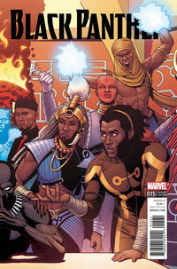 Cover Thumbnail for Black Panther (Marvel, 2016 series) #15 [Incentive Jamie McKelvie Connecting Variant]