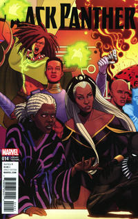 Cover Thumbnail for Black Panther (Marvel, 2016 series) #14 [Jamie McKelvie Connecting Cover]