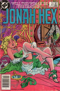 Cover Thumbnail for Jonah Hex (DC, 1977 series) #87 [Newsstand]