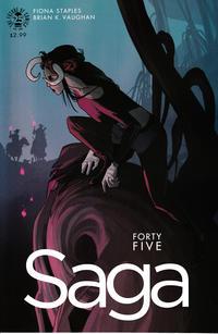 Cover Thumbnail for Saga (Image, 2012 series) #45
