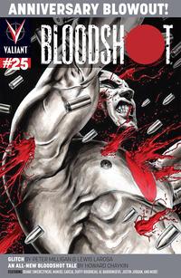 Cover Thumbnail for Bloodshot (Valiant Entertainment, 2014 series) #25 [Cover B - Al Barrionuevo]