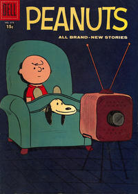 Cover Thumbnail for Four Color (Dell, 1942 series) #878 - Peanuts [15¢]