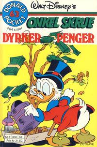 Cover Thumbnail for Donald Pocket (Hjemmet / Egmont, 1968 series) #63 - Onkel Skrue dyrker penger [2. utgave bc-F 330 64]