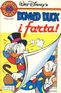 Cover Thumbnail for Donald Pocket (Hjemmet / Egmont, 1968 series) #60 - Donald Duck i farta! [2. utgave bc-F 330 63]