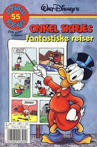 Cover Thumbnail for Donald Pocket (Hjemmet / Egmont, 1968 series) #55 - Onkel Skrues fantastiske reiser [2. utgave bc-F 390 02]