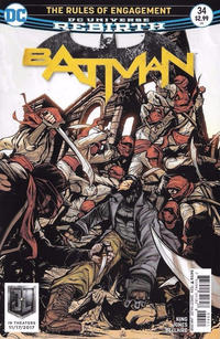 Cover Thumbnail for Batman (DC, 2016 series) #34