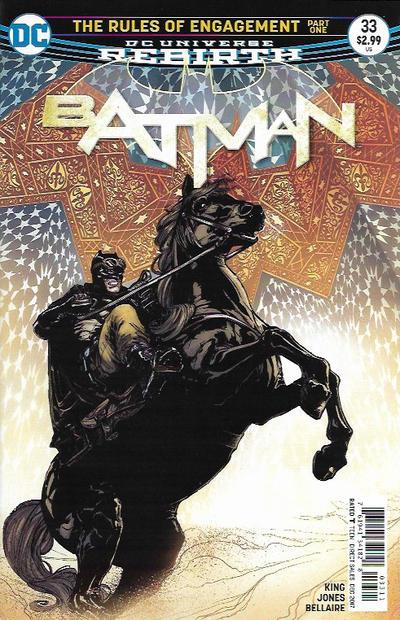 Cover for Batman (DC, 2016 series) #33 [Olivier Coipel]