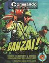 Cover for Commando: Banzai! (Carlton Publishing Group, 2011 series) #[nn]