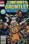 Cover Thumbnail for The Infinity Gauntlet (1991 series) #1 [Newsstand]