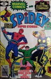 Cover for Spidey Super Stories (Marvel, 1974 series) #41 [Direct Edition]