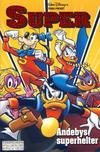 Cover for Donald Duck Tema pocket; Walt Disney's Tema pocket (Hjemmet / Egmont, 1997 series) #[94] - Andebys superhelter