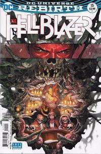 Cover Thumbnail for Hellblazer (DC, 2016 series) #15 [Yasmine Putri Cover]