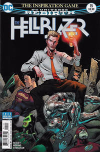 Cover Thumbnail for Hellblazer (DC, 2016 series) #15