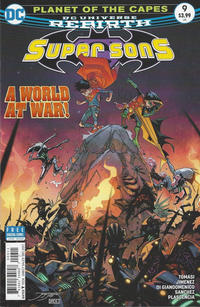 Cover Thumbnail for Super Sons (DC, 2017 series) #9