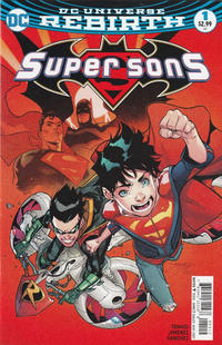 Cover Thumbnail for Super Sons (DC, 2017 series) #1 [Second Printing]