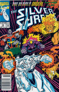 Cover Thumbnail for Silver Surfer (Marvel, 1987 series) #74 [Newsstand]