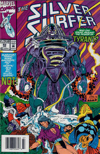 Cover Thumbnail for Silver Surfer (Marvel, 1987 series) #82 [Newsstand]
