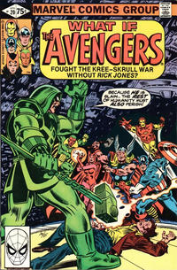 Cover Thumbnail for What If? (Marvel, 1977 series) #20 [Direct]