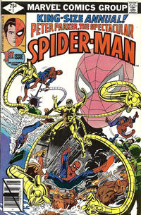 Cover Thumbnail for The Spectacular Spider-Man Annual (Marvel, 1979 series) #1 [Direct]