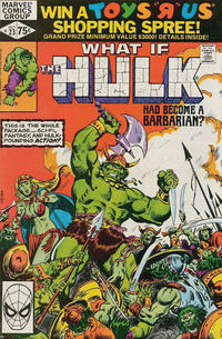 Cover Thumbnail for What If? (Marvel, 1977 series) #23 [Direct]