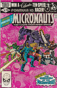 Cover Thumbnail for Micronauts (Marvel, 1979 series) #35 [Direct]