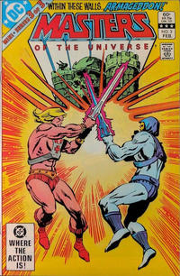 Cover Thumbnail for Masters of the Universe (DC, 1982 series) #3 [Direct]