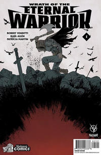 Cover Thumbnail for Wrath of the Eternal Warrior (Valiant Entertainment, 2015 series) #1 [Cover J - Yesteryear Comics - Declan Shalvey]