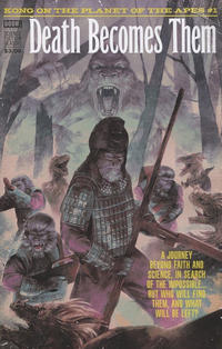 Cover Thumbnail for Kong on the Planet of the Apes (Boom! Studios, 2017 series) #1 [Cover C Hans Woody Pulp Variant]