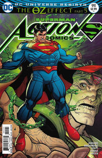 Cover Thumbnail for Action Comics (DC, 2011 series) #991 [Nick Bradshaw Non-Enhanced Cover]