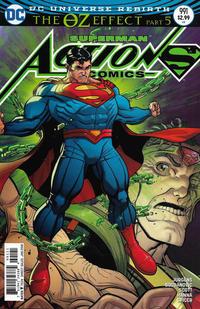 Cover Thumbnail for Action Comics (DC, 2011 series) #991 [Nick Bradshaw Non-Enhanced Cover]