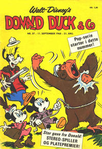 Cover Thumbnail for Donald Duck & Co (Hjemmet / Egmont, 1948 series) #37/1968