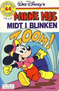Cover Thumbnail for Donald Pocket (Hjemmet / Egmont, 1968 series) #44 - Mikke Mus Midt i blinken [2. utgave bc-F 330 32]