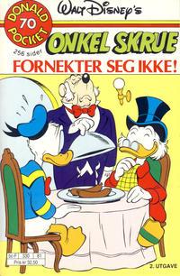 Cover Thumbnail for Donald Pocket (Hjemmet / Egmont, 1968 series) #70 - Onkel Skrue fornekter seg ikke! [2. utgave bc-F 330 81]