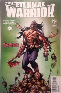 Cover Thumbnail for Wrath of the Eternal Warrior (Valiant Entertainment, 2015 series) #1 [Cover N - Baltimore Comic Con - Bart Sears]