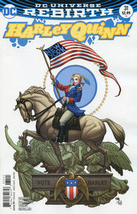 Cover Thumbnail for Harley Quinn (DC, 2016 series) #31 [Frank Cho Cover]