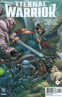 Cover Thumbnail for Wrath of the Eternal Warrior (Valiant Entertainment, 2015 series) #1 [Cover I - Midtown Comics Exclusive - Francis Portela]