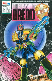 Cover Thumbnail for The Law of Dredd (Fleetway/Quality, 1988 series) #14