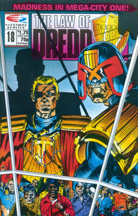 Cover Thumbnail for The Law of Dredd (Fleetway/Quality, 1988 series) #18