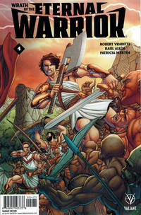 Cover Thumbnail for Wrath of the Eternal Warrior (Valiant Entertainment, 2015 series) #4 [Cover G - Midtown Comics Exclusive - Francis Portela]