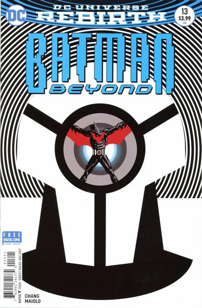Cover for Batman Beyond (DC, 2016 series) #13 [Dave Johnson Cover]