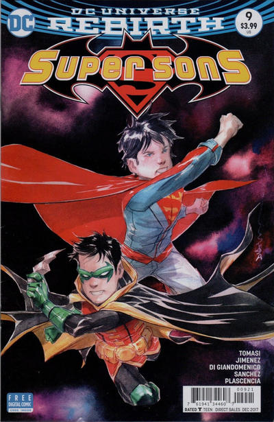 Cover for Super Sons (DC, 2017 series) #9