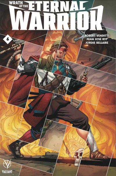 Cover for Wrath of the Eternal Warrior (Valiant Entertainment, 2015 series) #6 [Cover C - Pere Pérez]