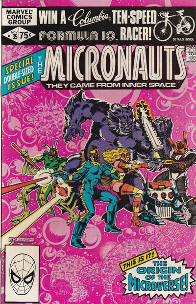 Cover for Micronauts (Marvel, 1979 series) #35 [Direct]