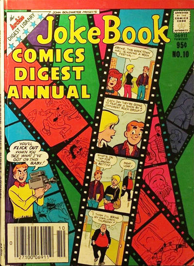 Cover for Jokebook Comics Digest Annual (Archie, 1977 series) #10