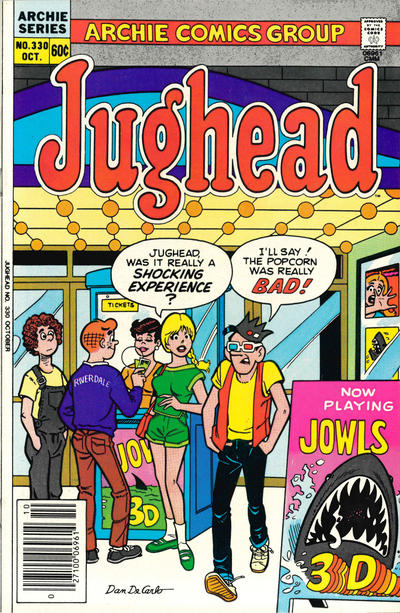 Cover for Jughead (Archie, 1965 series) #330 [Canadian]
