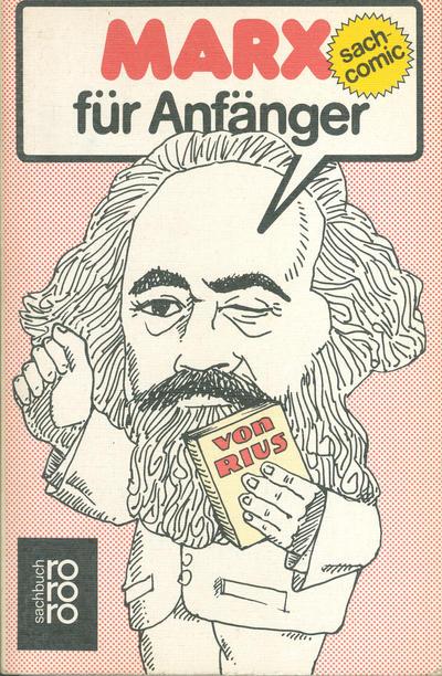 Cover  Sach-Comic - Marx für Anfänger