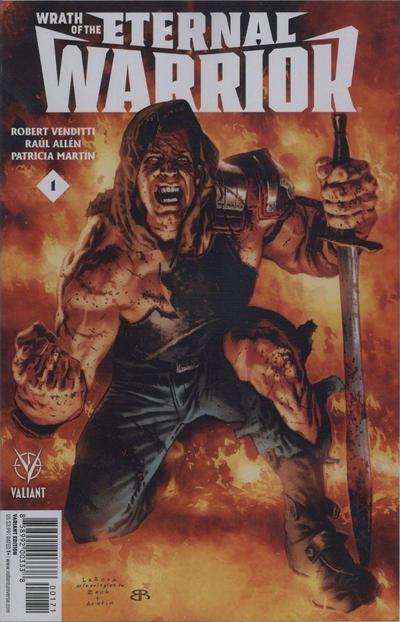 Valiant !! Wrath of the Eternal Warrior #1 Exclusive ATOMIC COMICS VARIANT