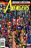 Cover for Avengers (Marvel, 1998 series) #2 [Newsstand]