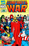 Cover for The Infinity War (Marvel, 1992 series) #1 [Newsstand]
