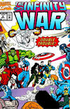 Cover for The Infinity War (Marvel, 1992 series) #4 [Newsstand]